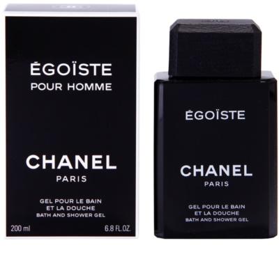 Chanel Egoiste gel de ducha para hombre
