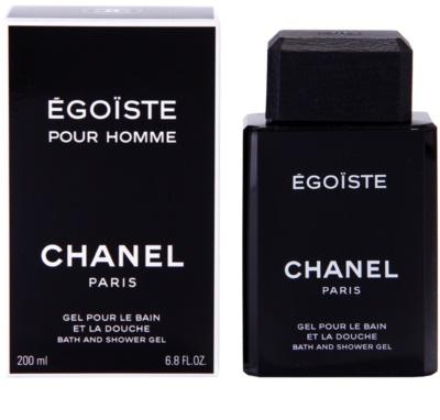 Chanel Egoiste gel de dus pentru barbati