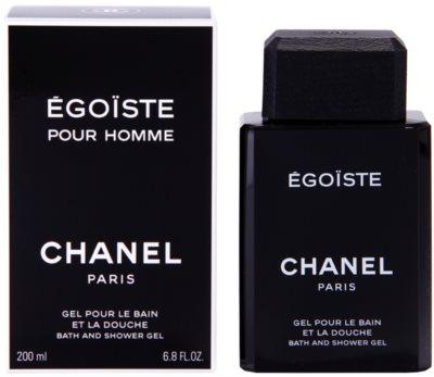 Chanel Egoiste gel za prhanje za moške