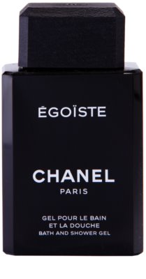 Chanel Egoiste gel de ducha para hombre 2