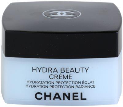 Chanel Hydra Beauty verschönernde, nährende Creme für normale und trockene Haut