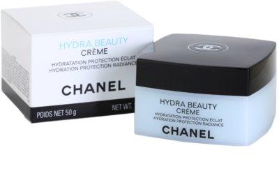 Chanel Hydra Beauty crema hidratante embellecedora para pieles normales y secas 2