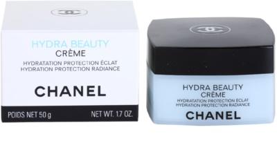 Chanel Hydra Beauty crema hidratante embellecedora para pieles normales y secas 3