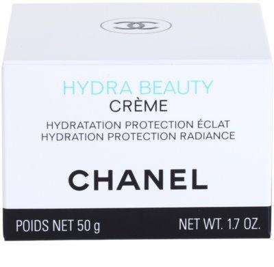 Chanel Hydra Beauty crema hidratante embellecedora para pieles normales y secas 4
