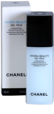 Chanel Hydra Beauty gel pentru ochi impotriva cearcanelor si ochilor umflati 1