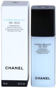 Chanel Hydra Beauty gel pentru ochi impotriva cearcanelor si ochilor umflati 2