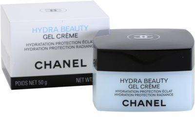 Chanel Hydra Beauty crema gel pentru hidratare. fata 1