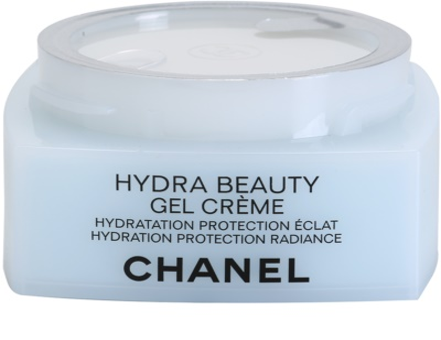Chanel Hydra Beauty crema gel pentru hidratare. fata 2