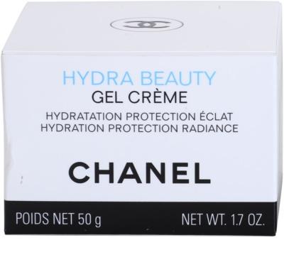 Chanel Hydra Beauty gel-crema hidratante para el rostro 4