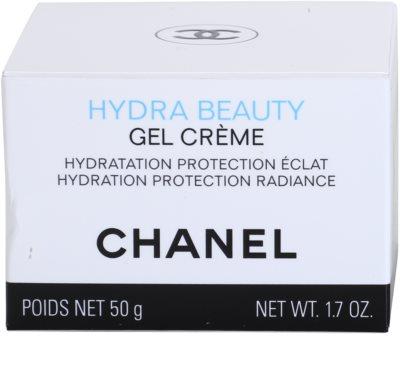 Chanel Hydra Beauty crema gel pentru hidratare. fata 4