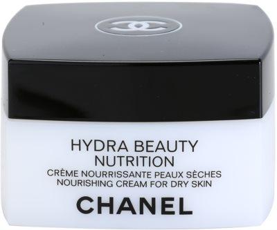 Chanel Hydra Beauty поживний крем для дуже сухої шкіри