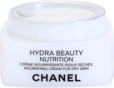 Chanel Hydra Beauty tápláló krém nagyon száraz bőrre 2