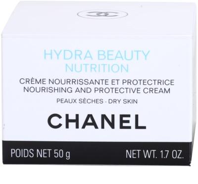 Chanel Hydra Beauty tápláló krém nagyon száraz bőrre 4