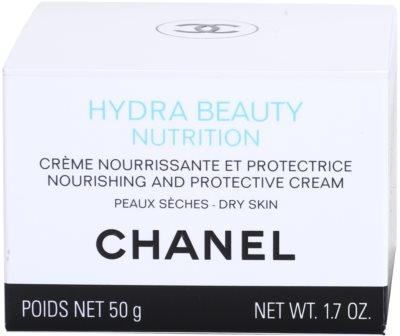 Chanel Hydra Beauty crema nutritiva pentru piele foarte uscata 4