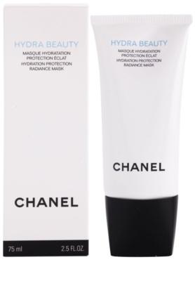Chanel Hydra Beauty хидратираща и озаряващ маска 1