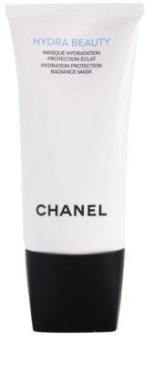 Chanel Hydra Beauty feuchtigkeitsspendende und aufhellende Maske