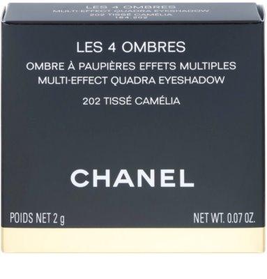 Chanel Les 4 Ombres de Chanel intensywne cienie do powiek 4
