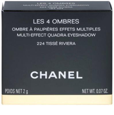 Chanel Les 4 Ombres de Chanel fard de pleoape intens 4