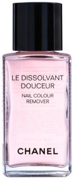 Chanel Le Dissolvant Douceur засіб для зняття лаку з аргановою олійкою