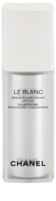 Chanel Le Blanc aufhellendes Serum gegen Pigmentflecken