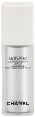Chanel Le Blanc serum rozświetlające przeciw przebarwieniom skóry