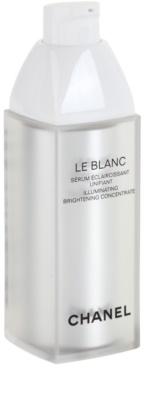 Chanel Le Blanc serum rozświetlające przeciw przebarwieniom skóry 1