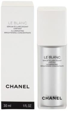 Chanel Le Blanc serum rozświetlające przeciw przebarwieniom skóry 2