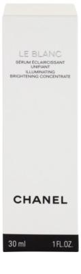 Chanel Le Blanc serum rozświetlające przeciw przebarwieniom skóry 3