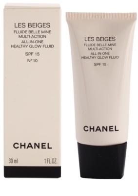 Chanel Les Beiges ultra-leichtes Fluid für gesunde Haut SPF 15 1