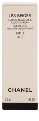 Chanel Les Beiges ultra-leichtes Fluid für gesunde Haut SPF 15 2