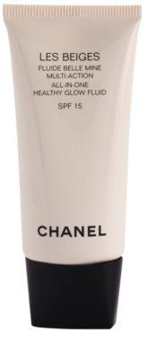 Chanel Les Beiges fluid cu textura ultra usoara pentru un aspect sanatos SPF 15