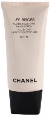 Chanel Les Beiges ultra lehký fluid zdravý vzhled pleti SPF 15