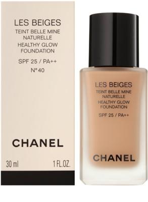 Chanel Les Beiges machiaj de stralucire pentru un look natural SPF 25 2