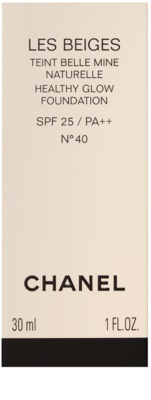 Chanel Les Beiges machiaj de stralucire pentru un look natural SPF 25 3