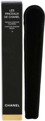 Chanel Les Pinceaux Lidschattenpinsel für die Anwendung dünn 1