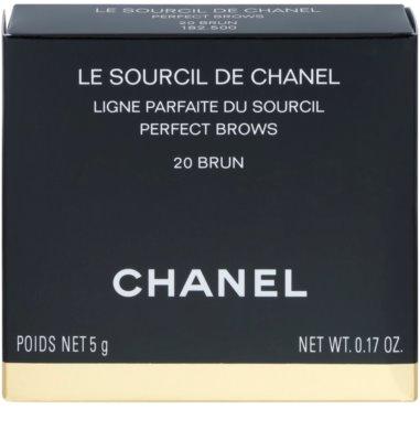 Chanel Le Sourcil De Chanel Palette zum schminken der Augenbrauen 3
