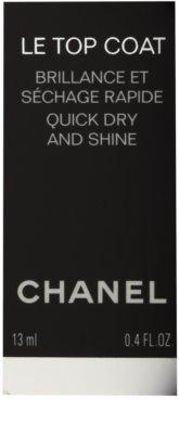 Chanel Le Top Coat Lac pentru protejarea ojei cu efect de stralucire 2
