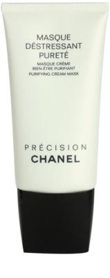 Chanel Précision Masque máscara de limpeza para pele mista e oleosa
