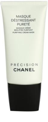 Chanel Précision Masque maseczka oczyszczająca do skóry tłustej i mieszanej