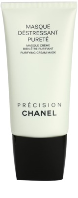 Chanel Précision Masque tisztító maszk kombinált és zsíros bőrre