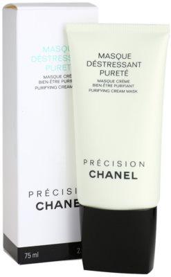 Chanel Précision Masque máscara de limpeza para pele mista e oleosa 1