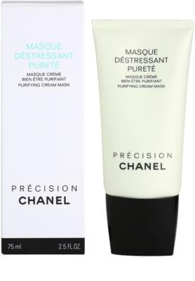 Chanel Précision Masque máscara de limpeza para pele mista e oleosa 2