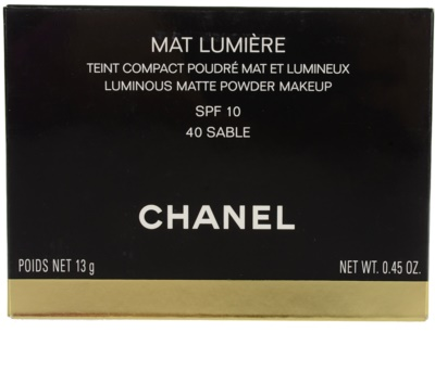 Chanel Mat Lumiere Compact Highlighter 2