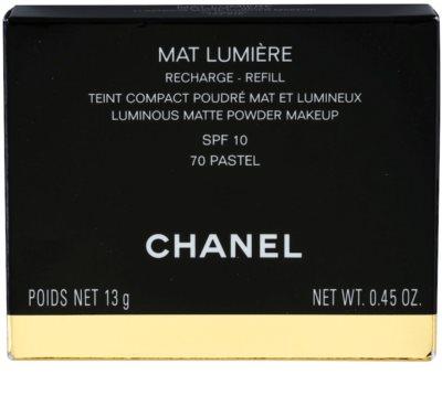 Chanel Mat Lumiere Compact puder rozjaśniający napełnienie 5