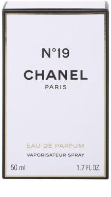 Chanel No.19 eau de parfum nőknek  vapo 4