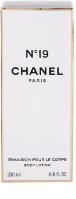 Chanel No.19 leche corporal para mujer 3
