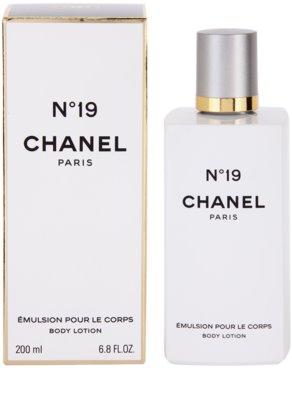 Chanel No.19 leche corporal para mujer