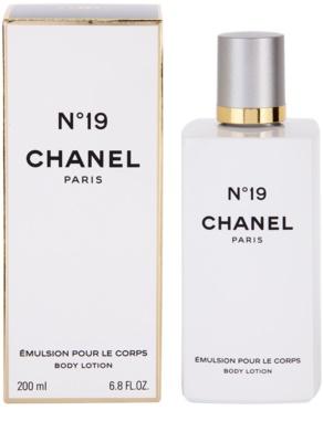 Chanel No.19 leite corporal para mulheres