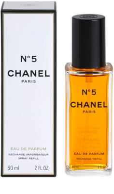 Chanel No.5 Eau de Parfum para mulheres  recarga com vaporizador