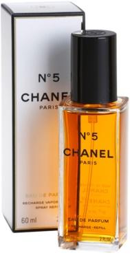Chanel No.5 Eau De Parfum pentru femei  refill cu vaporizator 1